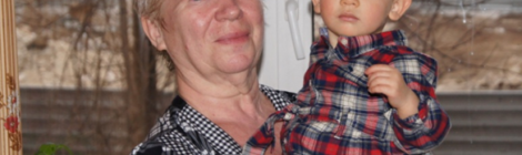 Прожито. Бабушка Римма с внучкой Алисой. 2015 год