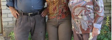 Сестра Светлана приехала в гости. 2017 год