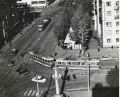 Перекрёсток Полевой и Ново-Садовой. 1973 год.