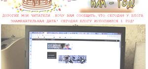Блогу Евгения Мозолевского один год