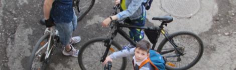 Открыли велосипедный сезон. 17 апреля 2021 года