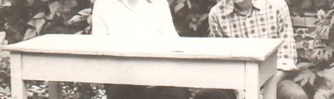 Редкий снимок. Я и отец. 1978 год